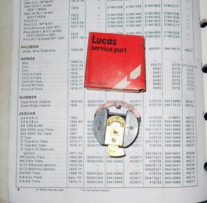 NOS Lucas Rotor 54417627. 1970-1971 automatic XKE & XJ6, 1965-1966 MKX ---->
