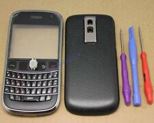 COQUE COMPLET AZERTY CLAVIER CHASSIS REMPLACEMENT POUR BLACKBERRY BOLD 9000 NOIR