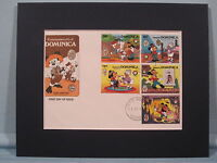 Disney's Mickey Mouse in Tom Sawyer & First Day Cover
