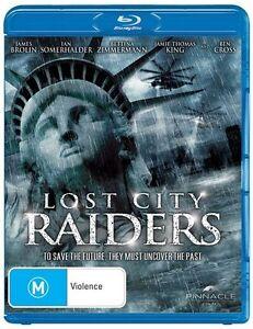 Lost City Raiders (Blu-ray, 2011)*Terrific condition*James brolin
