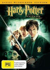 Harry Potter DVD The Chamber of Secrets (2 Discs) Kids Fantasy