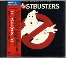 GHOSTBUSTERS OST JAPAN 1st Press CD 1984 35RD-11 3500Yen ALESSI