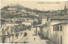S.DOMENICO E PANORAMA DI FIESOLE (FIRENZE) 1913