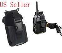 MSC-20A Universal Radio Case Pouch Bag Fr Baofeng Wouxun Puxing Motorola Kenwood