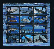 Aitutaki 2012 Definitive Issues --- Whales and Dolphins Stamp Miniature Sheet