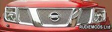 Zunsport fits Nissan Navara 2006-2009 Upper Front  Grille Set 3 piece