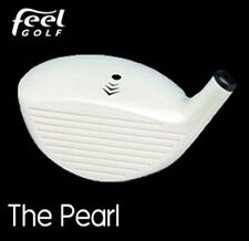 White Pearl Driver by Feel Golf  (Lady's) New Unifiber Graphite - Light Flex