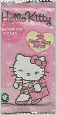 HELLO KITTY SHOPPING MANIA CARD CARDS BUSTINE SEALED PACK NEW