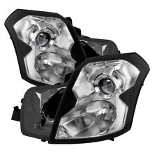 Cadillac 03-07 CTS Chrome Housing Replacement Headlights Left + Right Side