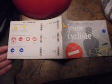 Ancien Manuel du Code de la Route CE QUE DOIT SAVOIR LE JEUNE CYCLISTE 1955 Vélo