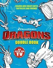 Dragons : Doodle Livre de Dreamworks