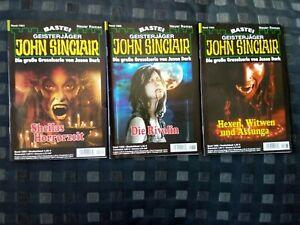 Roman John Sinclair, Geisterjäger, 3 Romane