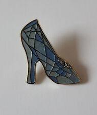 Disney Live Action 2015 Cinderella Sparkly Bejeweled Beautiful Glass Slipper Pin