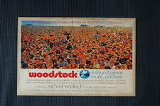 Woodstock Tour Poster 1969 #3