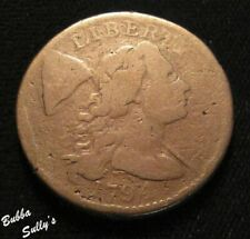1794 Liberty Cap Large Cent <> S-62 R5 Die St B/Head of 94<>G to Vg Details