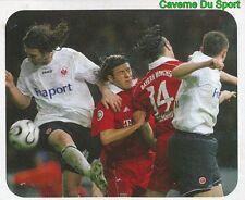 005 EINTRACHT FRANKFURT / BAYERN MUNCHEN GERMANY  STICKER FUSSBALL 2007 PANINI