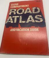 Vintage 1981 Glove Compartment Road Atlas Readers Digest