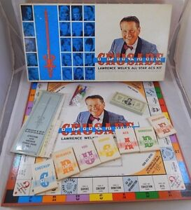 Lawrence Welk Crusade Board Game All-Star ACS Kit American Cancer Society 1967
