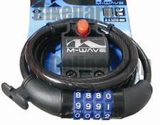 Cerradura de Combinación Candado Cable Espiral Candao Para Bicicleta 8x1500mm