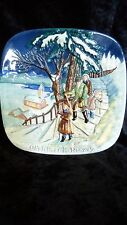 Christmas In Norway Plate, John Beswick Limited, Royal Doulton Group 1975