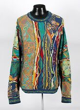 GREAT DESIGN / COLORFUL - COOGI Crewneck Sweater - XL