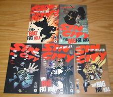 Sin City: the Big Fat Kill #1-5 VF/NM complete series - frank miller 2 3 4 set