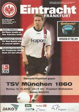 EINTRACHT FRANKFURT -1860 München 2004/2005 2004/05-Stadion Magazin-DFB-Nr:4
