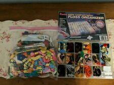 Cotton Embroidery Floss in Darice Organizer Box With Floss