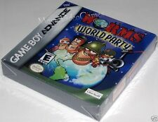 Worms World Party (Game Boy Advance) ..SealED! h-seam! Nice!