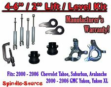 "2000- 2006 Chevrolet GMC 1500  4""-6"" / 2"" Lift Kit Spindles Spacer TOOL + SHOCKS"