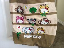 Hello Kitty Jungle Animal Tote Bag