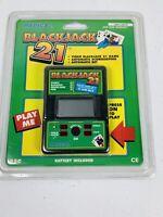 🔥Vintage Radica Blackjack 21 Handheld Electronic Video Game Model 550 • New