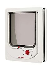 Cat Mate Electromagnetic Cat Flap White