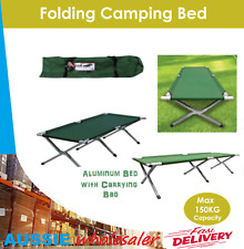 Folding Camping Bed Stretcher Light Weight Camp Portable with Carry Bag
