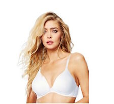 a6f1916296 Maidenform 9348V WIRE FREE LINED FULL COVERAGE Bra White 34C  6393