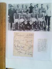 More details for liverpool autographs (12) 1946/47 title winning season superb rare item
