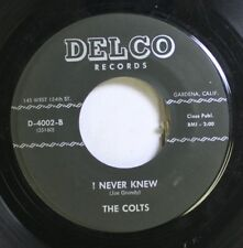 Hear! Doo Wop 45 The Colts - I Never Knew / Oh, When You Touch Me On Delco