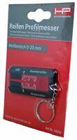 Reifenprofilmesser Profiltiefenmesser schwarz rot HP Autozubehör 18252
