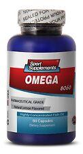 Omega-3 8060 Pharmaceutical Grade Concentrated Fish Oil Fat Burner (1 Bottle)