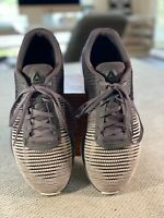 REEBOK FAST FLEXWEAVE Gray/ White CrossFit Training Running Mens shoe size 10.5