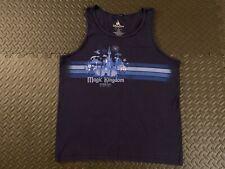 Walt Disney Magic Kingdom Lake Buena Vista FL 01 OCT 1971 BLUE TANK TOP LARGE