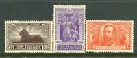 NEW ZEALAND....  1920  Victory   3d, 6d, 1/-  mng