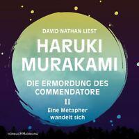 DAVID NATHAN - H.MURAKAMI:DIE ERMORDUNG DES COMMENDATORE II HÖRBUCH  12 CD NEU