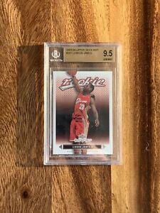 (REPACK) LEBRON JAMES 2003-04 Upper Deck MVP ROOKIE CARD BGS 9.5 (READ FIRST)