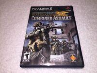 SOCOM: U.S. Navy SEALs -- Combined Assault (PlayStation 2, 2006) PS2 Complete Ex