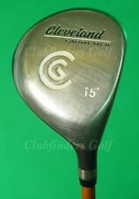 Cleveland Launcher Stainless 15° 3 Wood Launcher Gold 65g Graphite Regular
