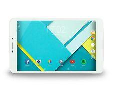 DJC Touchtab 6 Lite 8GB, Wi-Fi + 4G (Unlocked), 8in - White & Silver