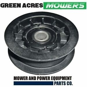 RIDE ON MOWER FLAT IDLER PULLEY FOR MURRAY 91179 , 421409MA , 91179MA