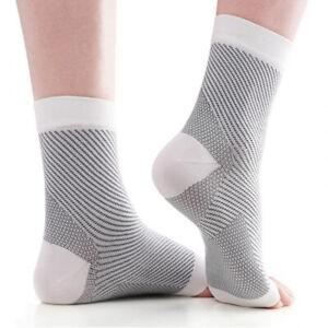 Plantar Fasciitis Socks Heel Foot Arch Pain Splint Support Brace Compression CFR