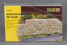 FALLER 170900 - Naturstein, Komplett-Set für Außen - NEUWARE
